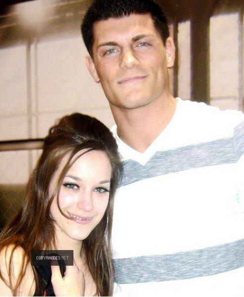 photo de cody et une fan