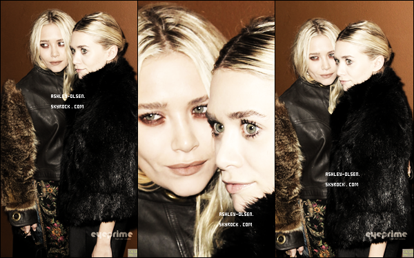 11/10/11  : Ashley et sa s½ur étaient à l'avant première ainsi qu'à l'after party du film de leur s½ur au The Lincoln Center's Alice Tully Hall de New York.
