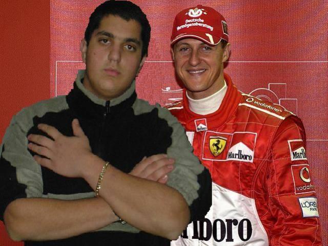 SCHUMI F1 MILAN AC SHEVA AND ME...