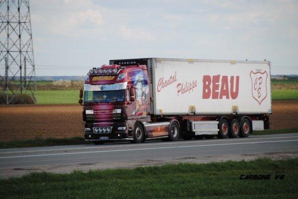 Transport Beau sur la RN 20.
