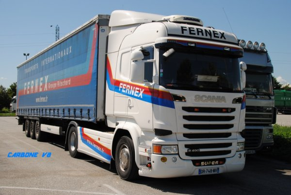 Transport Fernex. Mon ami Fredo. Loriol Juin 2016.