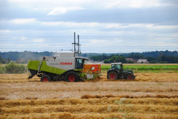 Mon petit plaisirs des machines agricole.
