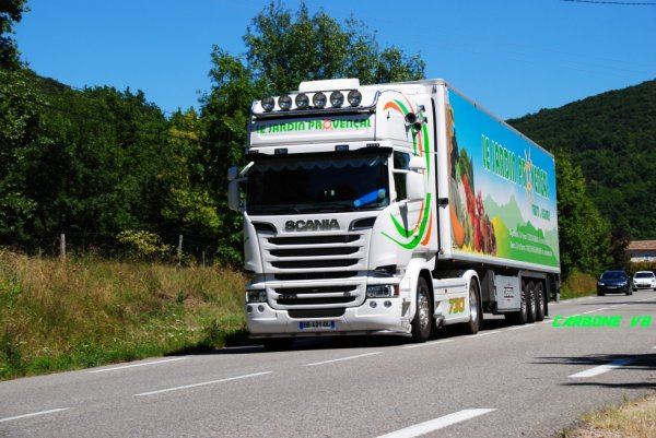Scania R730:Jardin Provençal.