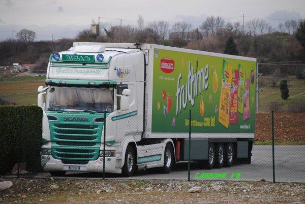 Transport GALLOTRASPORTI. Saint-Marcel les Valence. Février 2017..