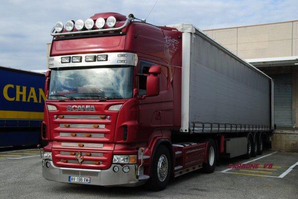 Ex Transport Cambrias. Scania R580. Valence. Février 2017.