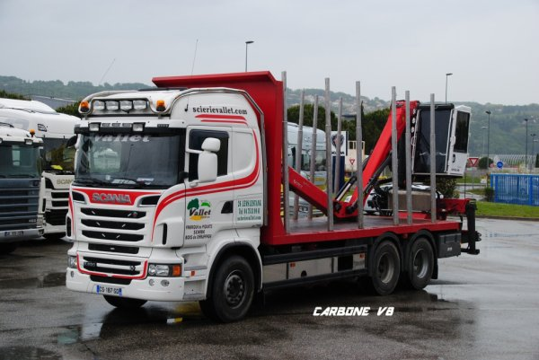 Scierie Vallet. Scania R620. Scania Valence Mai 2017.