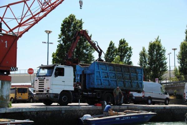 Un Scania à Venise. 25/05/2017.