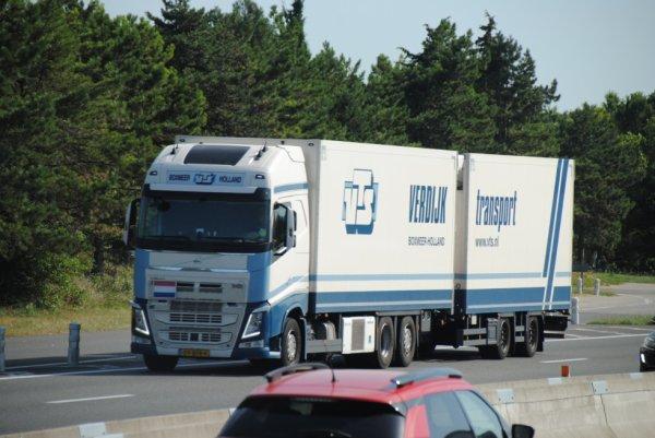 Transport Verdijk. Autoroute A7.