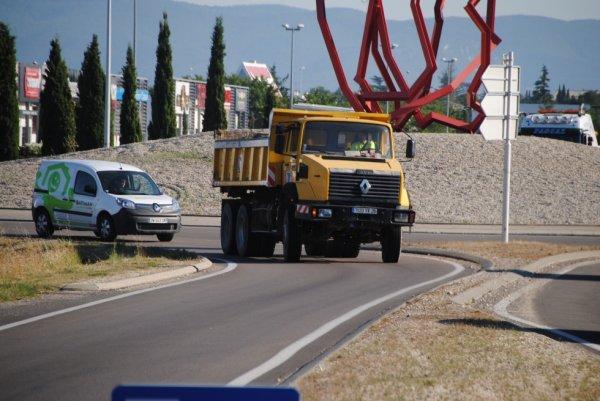 Travaux publics Berthouly de Montélimar. CLM 340.