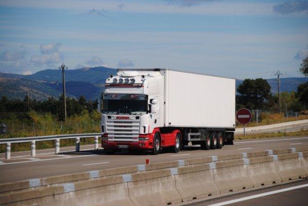 Transport Guillaume Volle. Scania 144-530 (Ex Eric Balandras).