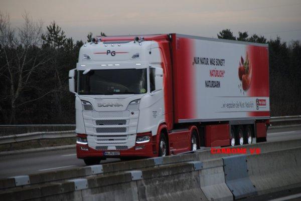PG Deutscland. Scania S580.