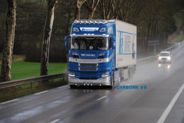 Transport Bonnet. Scania S730.