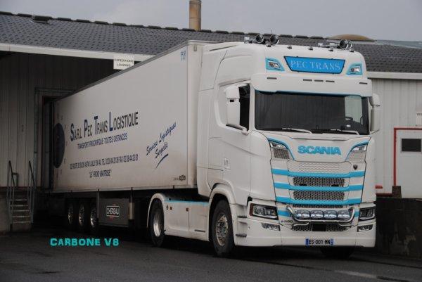 Transport PEC. Scania S580.