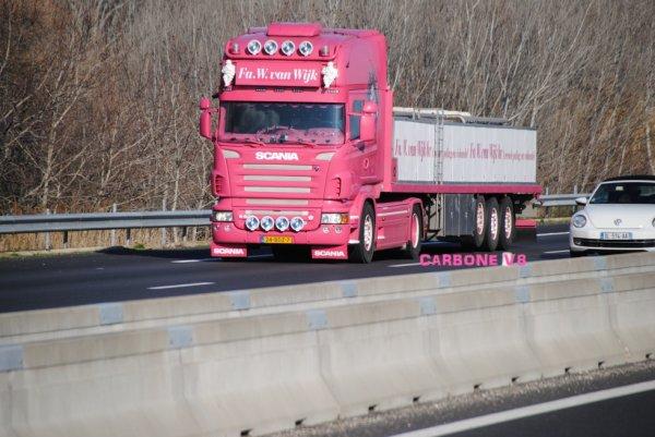 Scania de la société: Fa.W.van.Wijk.