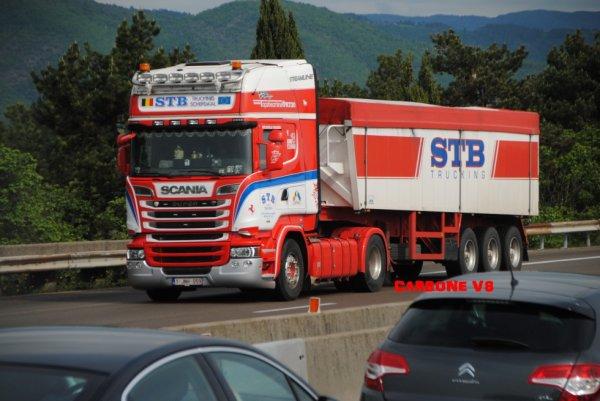 Transport STB Belgium.