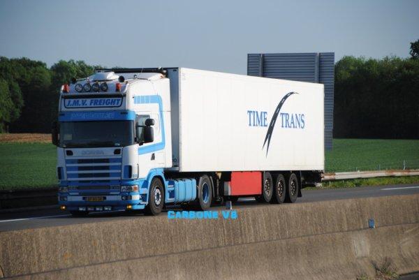 JMV Freight. Ancien Scania PW KOK.
