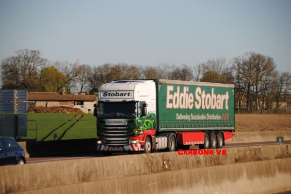 Transport Eddie Stobart. Made in Roumanie!!!!!!