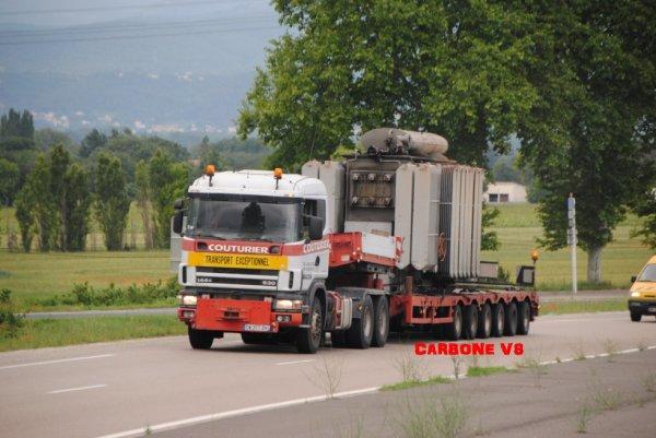 Transport Couturier. Scania 144-530.
