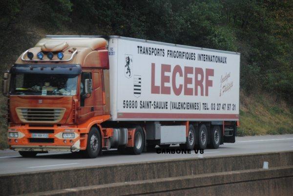 Transport Lecerf dans le col du Grand-Boeuf.