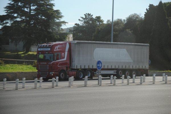 Un ex Scania Norvégien immatriculé en Espagne...
