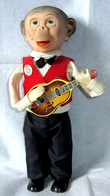 CARL ORIGINAL KOKOMO AVEC GUITARE N°269 23cm 1958 VOIR VIDEO JOINTE