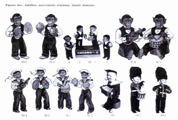 CARL ORIGINAL PUBLICITE DE 1958 DES : KOKOMOS - MARINS - GARDES ANGLAIS .