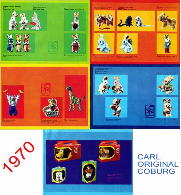 CARL ORIGINAL CATALOGUE DES AUTOMATES DE 1970