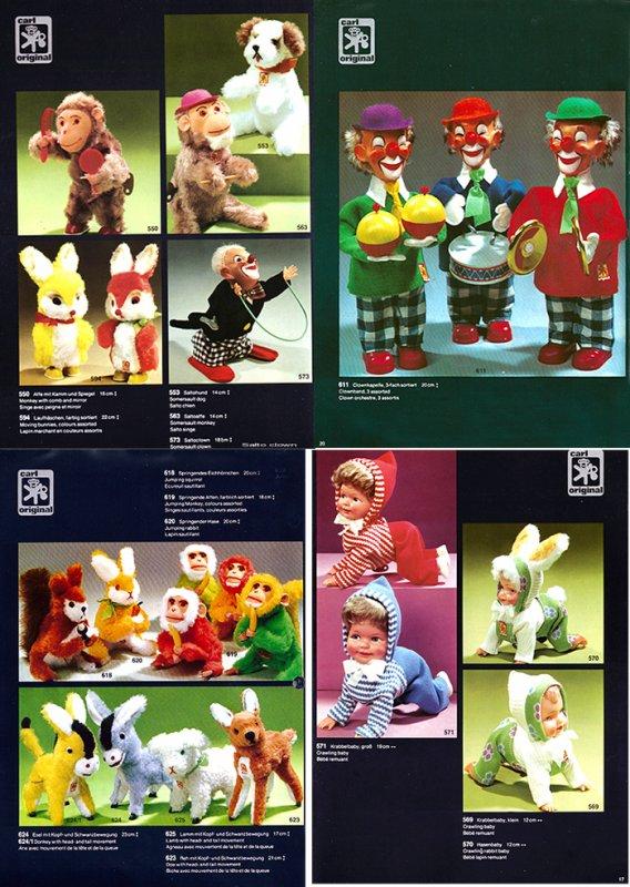 CARL ORIGINAL CATALOGUE DES AUTOMATES DE 1976 COMPLEMENTAIRE AVEC 1973 -1974 - 1975