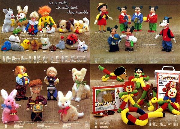 CARL ORIGINAL CATALOGUE DES AUTOMATES DE 1984 - 12 PAGES COMPLEMENTAIRES DES AUTRES ANNEES