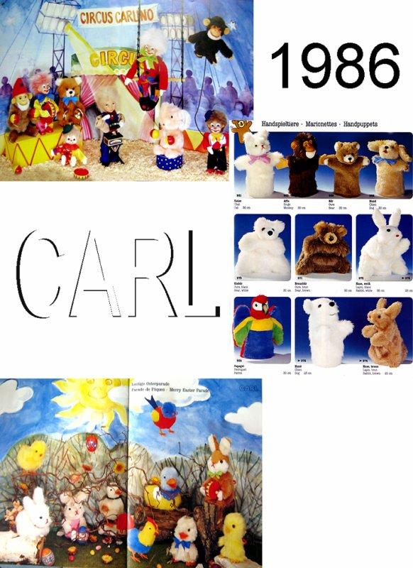 CARL ORIGINAL CATALOGUE DES AUTOMATES DE 1986 ( C6 ) - 17 PAGES COMPLEMENTAIRES DES AUTRES ANNEES