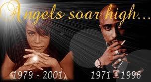Aaliyah et Tupac