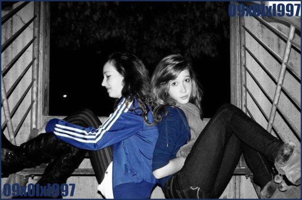J'ai la meilleure des meilleures amies. ♥♥