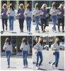 9 Avril 2021 - Lily était avec sa mère pour fêter l'anniversaire de sa mère à West Hollywood