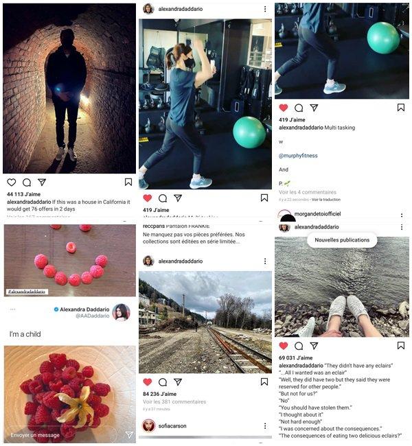 16 Avril 2021 - Alexandra a posté sur sa chaine Youtube