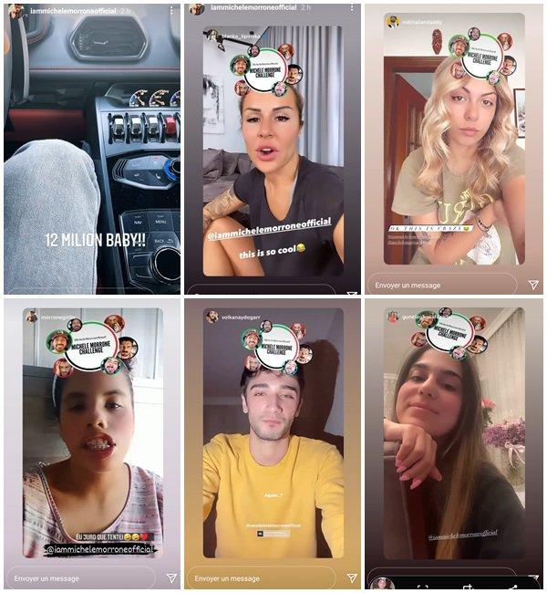 Du 24 au 28 Avril 2021, Michele a posté sur son Instagram