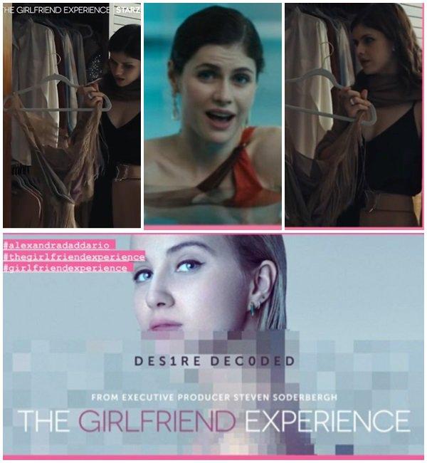 "Premier aperçu d'Alexandra dans la série ""The Girlfriend Experience"""