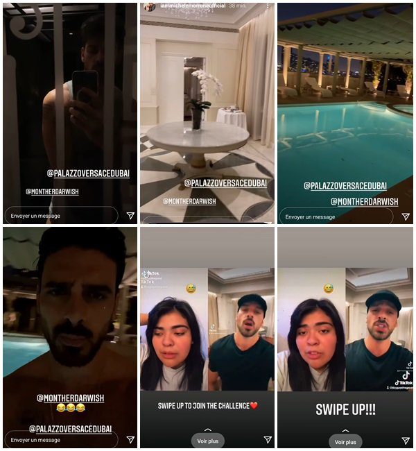 Du 29 Avril au 3 Mai 2021, Michele a posté sur son Instagram