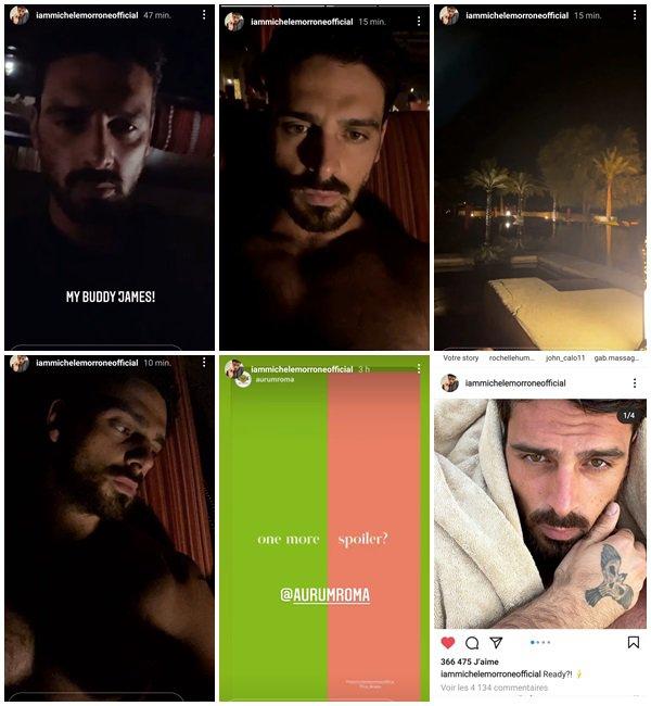 Du 4 au 11 Mai 2021, Michele a posté sur son Instagram