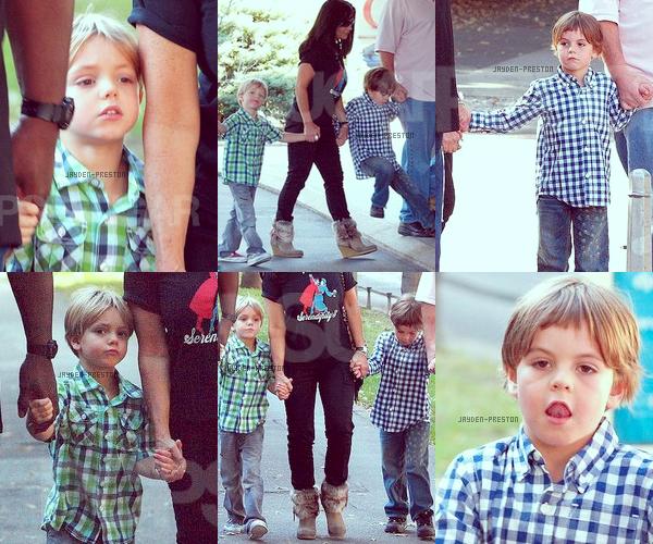 01.10.2011 ~ Jayden et Preston en Croatie avec leur grand-mère et Lonnie