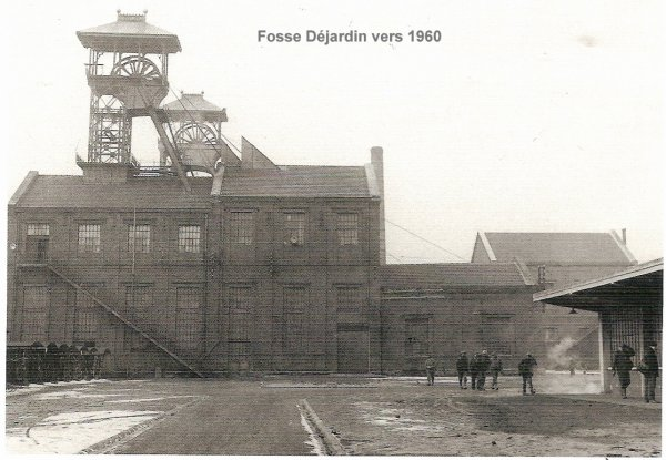 une ançienne photo de fosse déjardin vers 1960