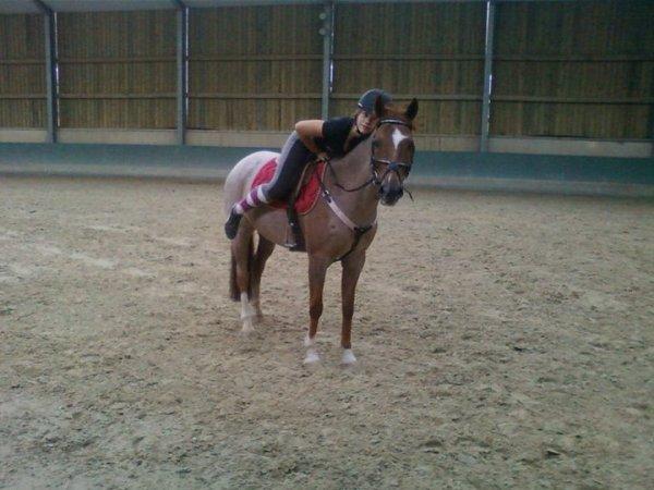 L'amitié, c'est une âme en deux corps , pour moi il sont l'exemple d'une amitié entre un cheval & un enfent =)