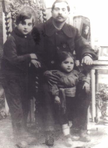 forelle avec son frère tchavelek et son père le petit paupaul