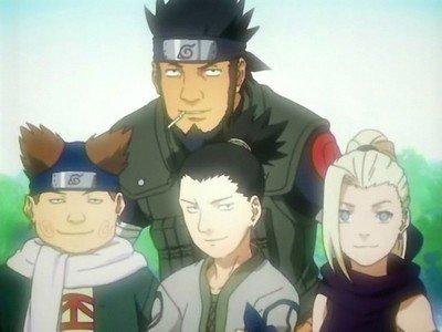 Les équipes de Konoha