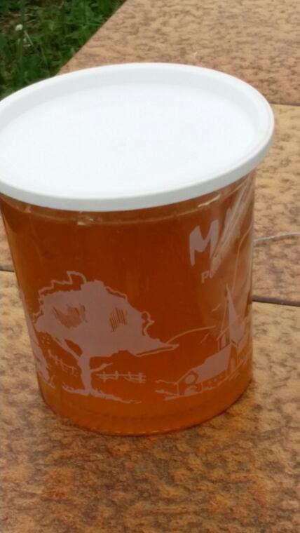 Premier pot de miel