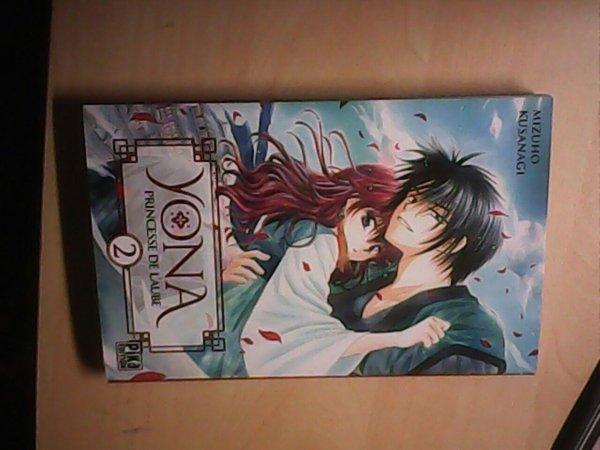 Manga que j'ai acheté hier: Yona, princesse de l'aube