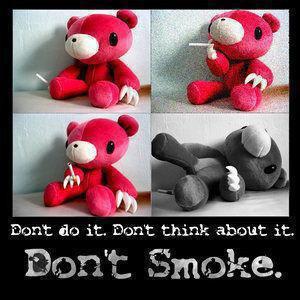 ~Si toi aussi , tu fais partis des rares Ados , qui ne fume pas ( pus ).