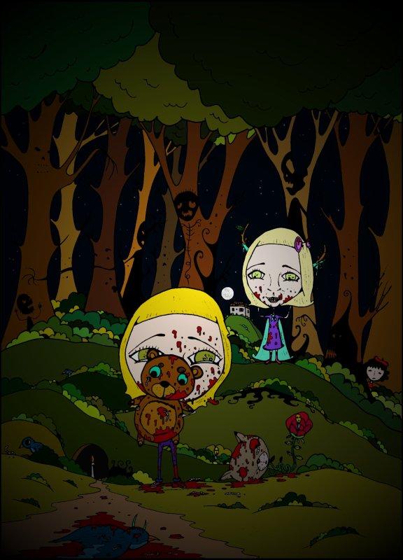 Durand0 et la forêt maléfique
