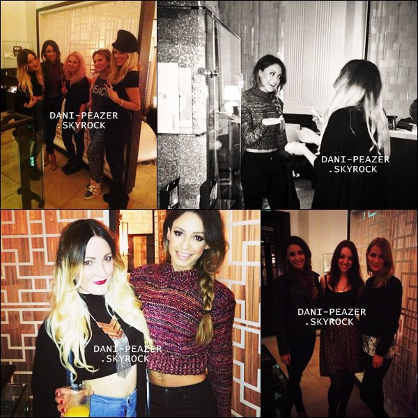 18/09/13 : Danielle à l'évènement Claire's Beauty Event accompagner de Sophie Johnson à Londres, Royaumes-Uni.