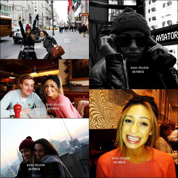FLASHBACK : Danielle à New York en mois de décembre 2012.