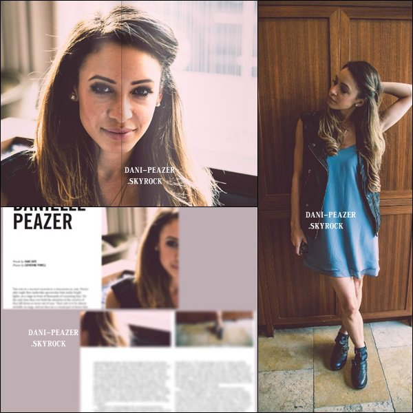 Danielle dans interwiew de NAKED magazine.